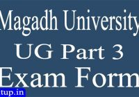 Magadh University Part 3 Exam Form Date 2021