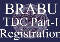 BRABU Part 1 Registration 2020