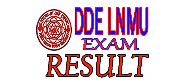 DDE LNMU Result December