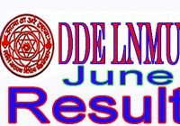 DDELNMU Result June