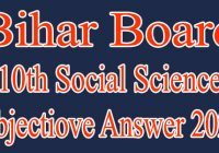 BSEB 10th Social Science Answer 2020