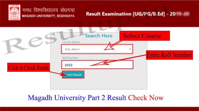 Magadh University Part 2 Result