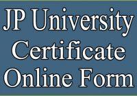 JP University Provisional Certificate