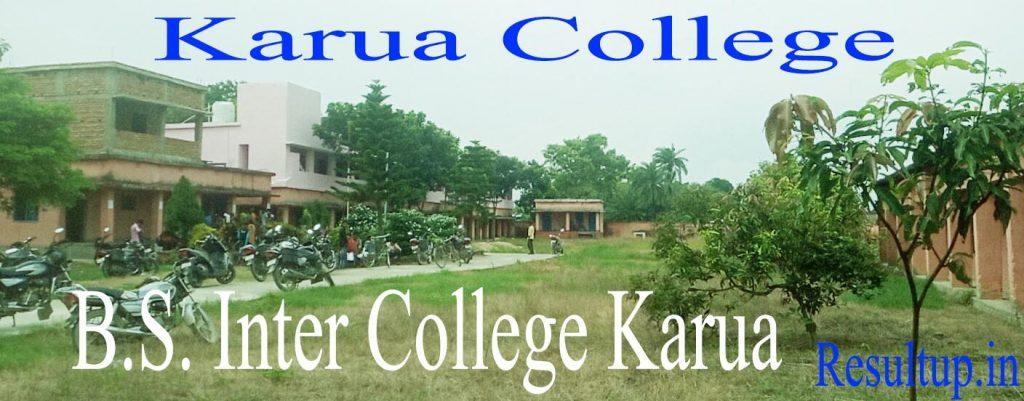 B.S. College Karua