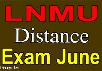DDELNMU Exam Form June 2020