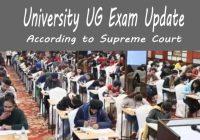 University Graduation Final Year Exam 2020