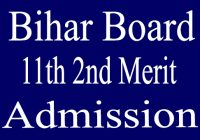 OFSS Bihar 11th 2nd Merit Admission 2020