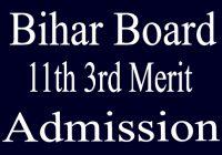 OFSS BIHAR 11th 3rd Merit Admission 2020