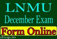 DDELNMU Exam Form 2020