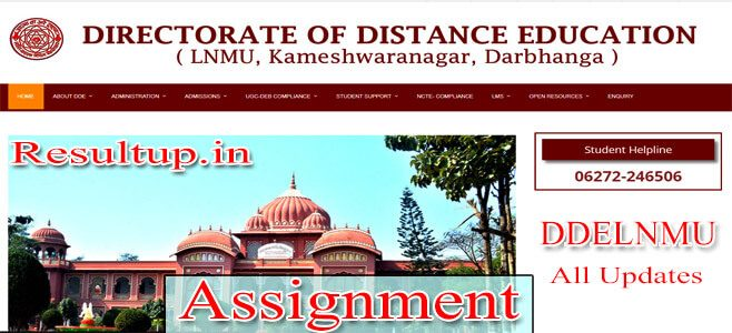 DDELNMU Assignment