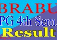 BRABU PG 4th Semester Result 2020