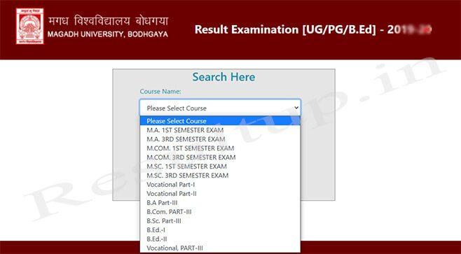 Magadh University Results