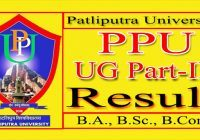 Patliputra University Part 3 Result 2021