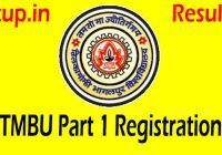 TMBU Part 1 Registration 2021